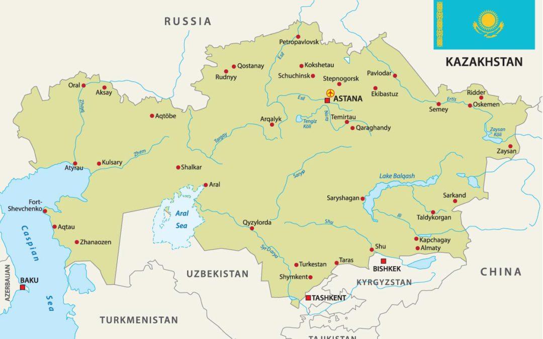 Produkce masa vKazachstánu